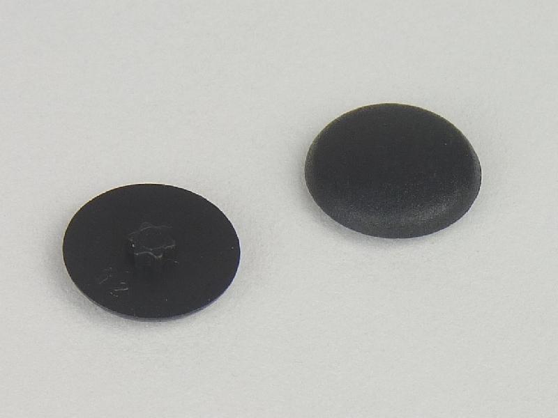 50 St/ück Abdeckkappen f/ür Tx 20 Schrauben schwarz RAL9005