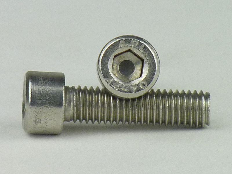100x DIN 963 Senkschrauben mit Schlitz M 5 x 40 Kunststoff blank