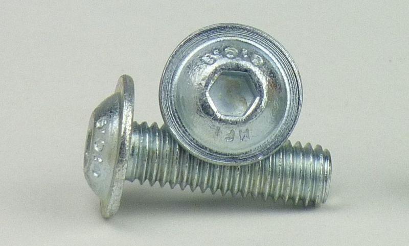 200 Inbus Linsenkopfschrauben ISO 7380-1 10.9 verzinkt M8x25