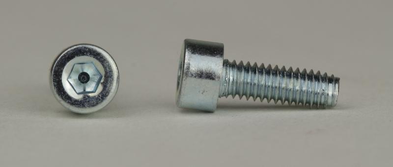 100 St DIN 7500 ~D mit Bund gewindefurchende Schrauben M 10 x 30 verzinkt