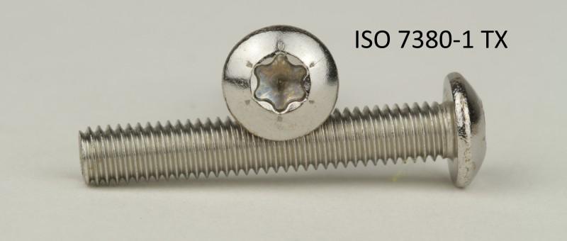 25 Stück M2,5X4 Innensechskant ISO7380 mit Flansch A2 Flanschschrauben M2,5