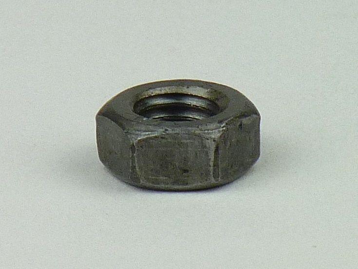 10x DIN 6923 Sechskantmuttern mit Flansch M 8 A4 blank