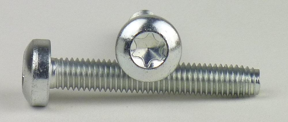 10 Schrauben DIN 84  M3,5 x 8 mm 10 Muttern Edelstahl
