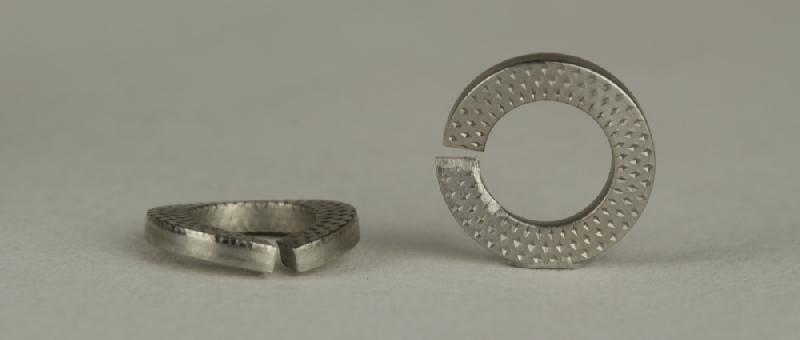 10x DIN 470 Verschlussscheiben 42 Stahl blank