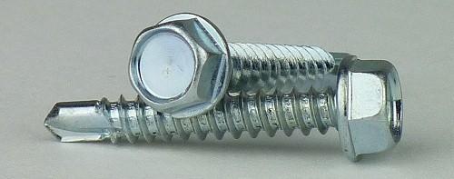 verzinkt Sechskantkopf mit Bund-K galv Bohrschrauben DIN 7504-3,5 x 19-1000 St/ück